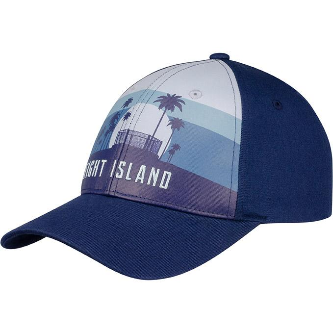 UFC Fight Island Returns Stripe Cage Cap - Blue
