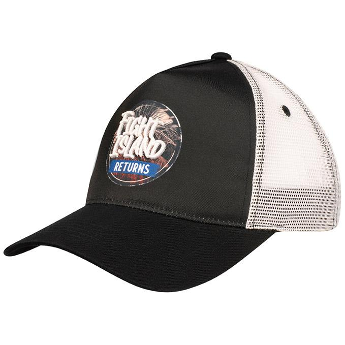 UFC Fight Island Returns Meshback Cap - Black/White