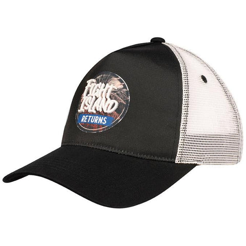 UFC Fight Island Returns Reebok Blue Corner Snapback Cap - Blue