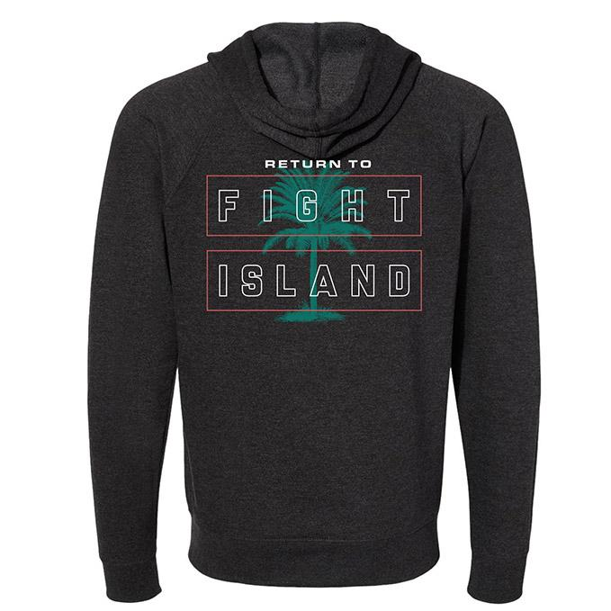 Men's UFC Fight Island Flare Hoodie - Charcoal Heather