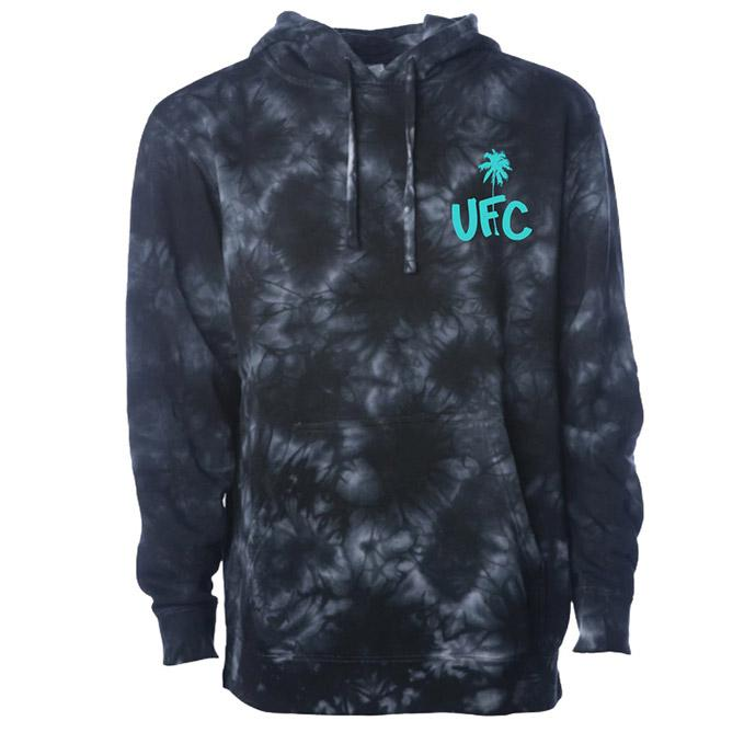 Men's UFC Fight Island Metro Palm Hoodie - Charcoal Heather