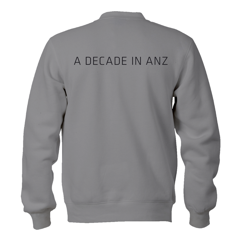 Mens UFC ANZ10 Double Print Sweatshirt -Grey