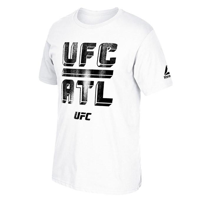 UFC 236 Black Atlanta Weigh In T-Shirt-White