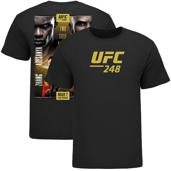 Men's UFC 248 Official Event T-Shirt - Black