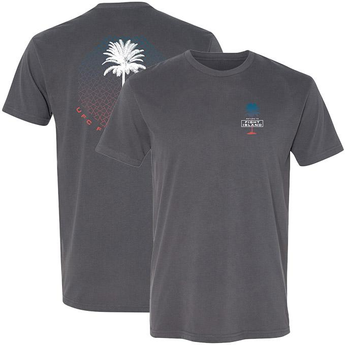 Men's UFC Fight Island Octopalm T-Shirt - Charcoal
