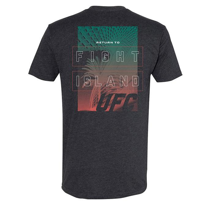 Men's UFC Fight Island Flare T-Shirt - Heavy Metal