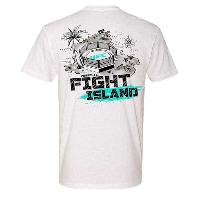 Men's UFC Fight Island Directions T-Shirt - White