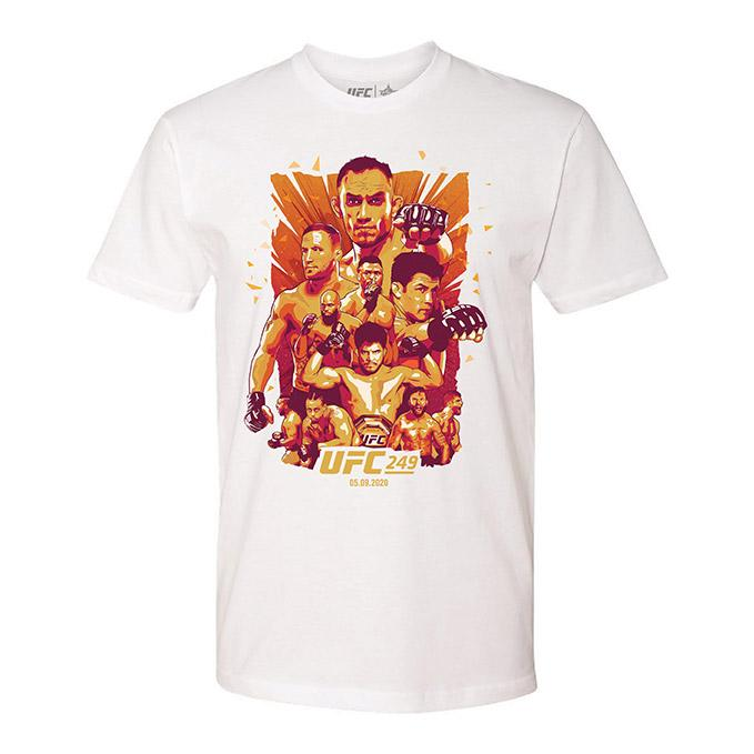 UFC 249 Artist Series Event T-Shirt-White