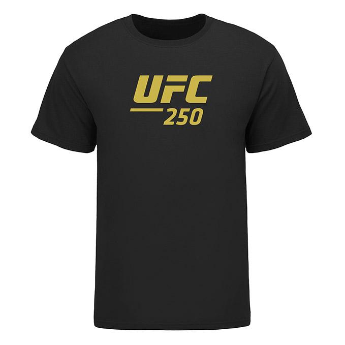 Men's UFC 250 Nunes vs Spencer Event T-Shirt - Black