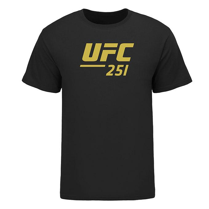 Men's UFC 251 Event T-Shirt - Black