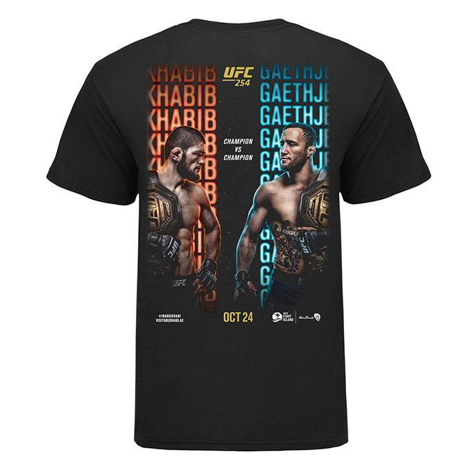 Men's UFC 254 Event T-Shirt - Black