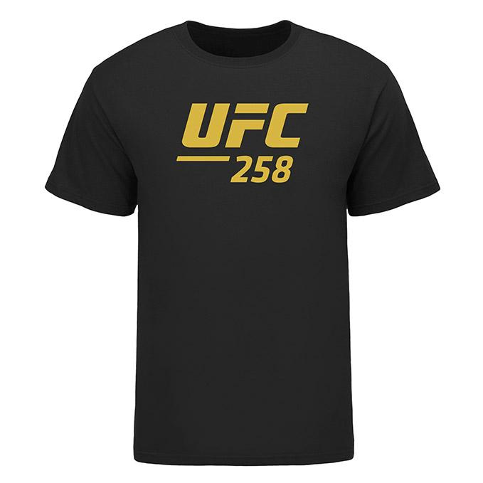 Men's UFC 258 Usman vs Burns Event T-Shirt - Black