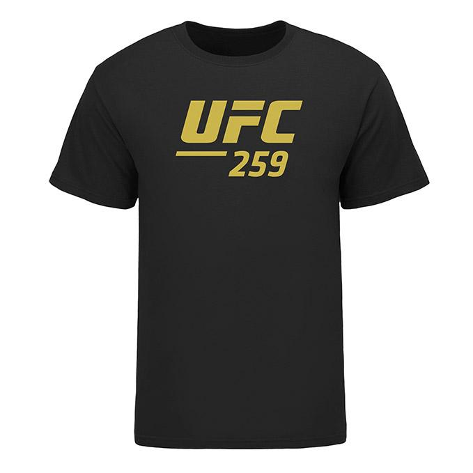 Men's UFC 259 Event T-Shirt - Black