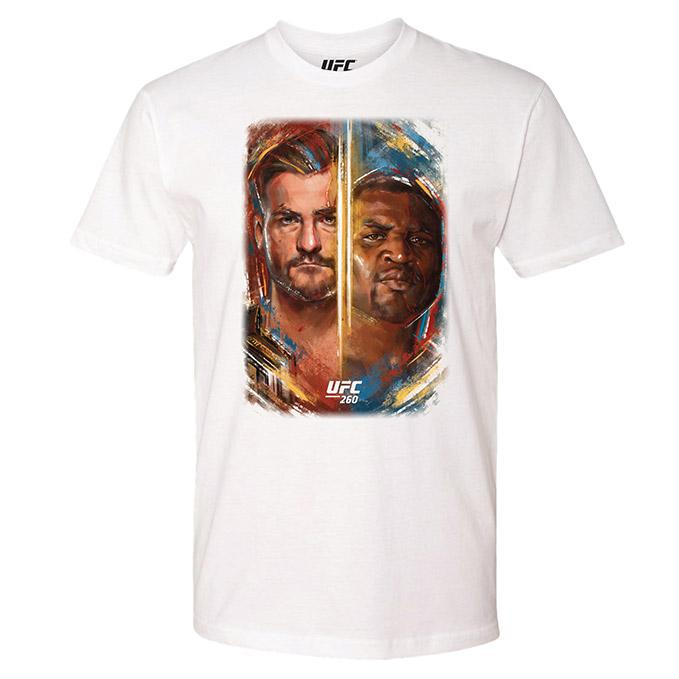 Men's UFC 260 Artist Series Event T-Shirt - White