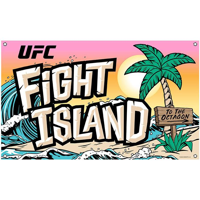 UFC Fight Island to the Octagon Banner