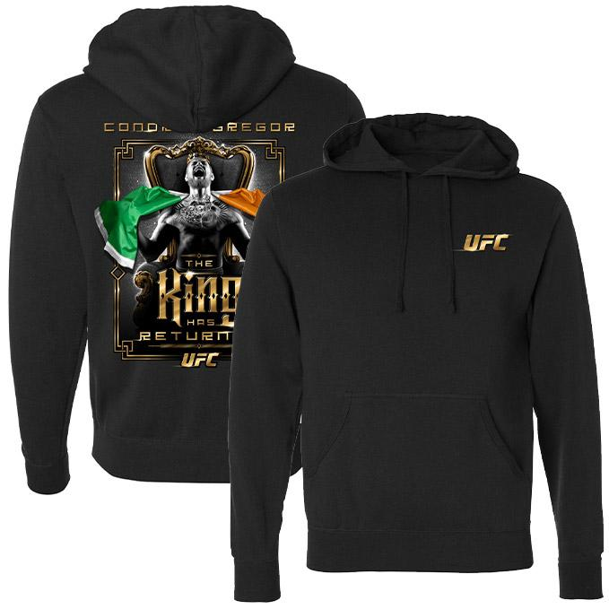 Men's Conor McGregor The King Has Returned Sweatshirt