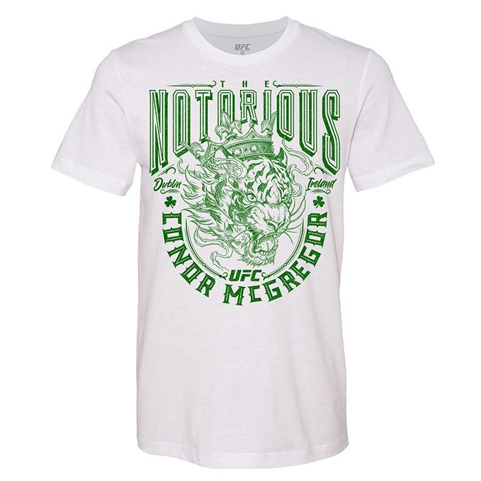 "Men's ""The Notorious"" Conor McGregor T-Shirt – White"""