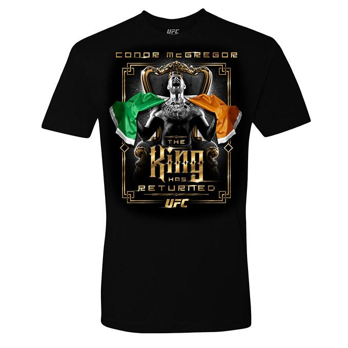 Men's Conor McGregor The King Has Returned T-Shirt