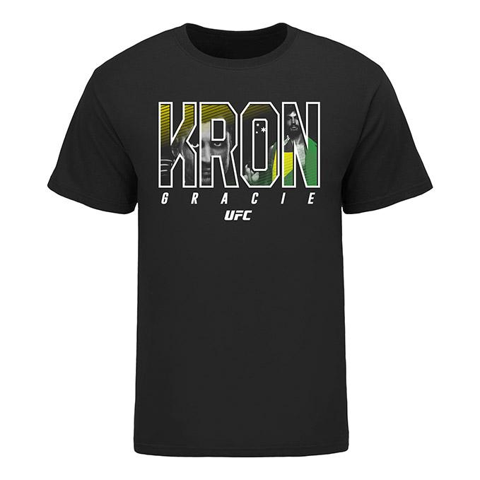 Men's UFC Kron Gracie Tee- Black