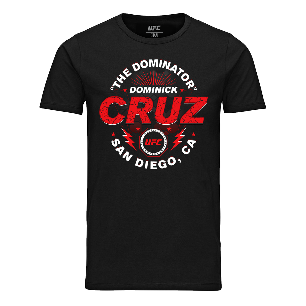 "UFC Men's Dominick ""Dominator"" Cruz Graphic T-Shirt - Black"