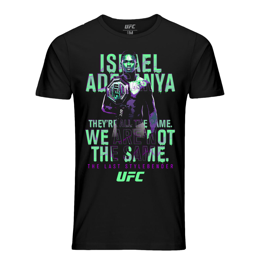 "Men's Israel ""The Last Stylebender"" Adesanya We Are Not The Same.Quote Tee-Black"