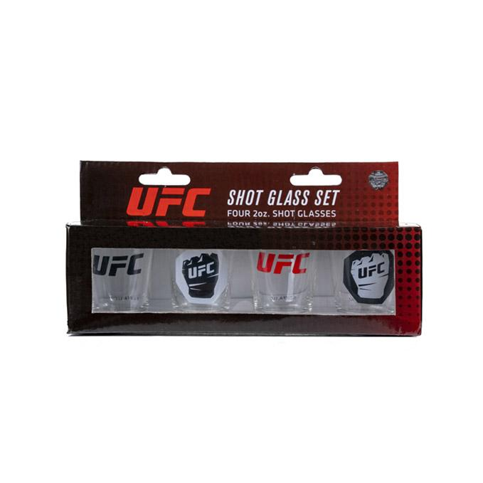 UFC Shot Glass 4 Pack