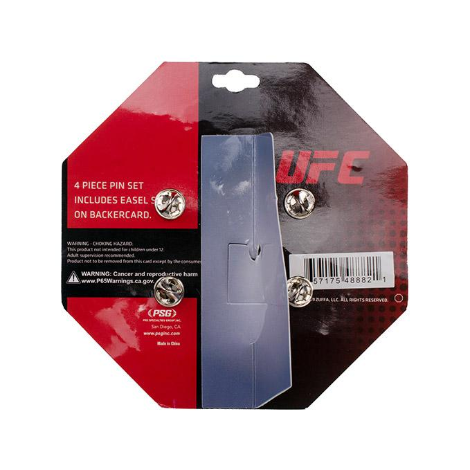 UFC Octagon 4 Pin Set