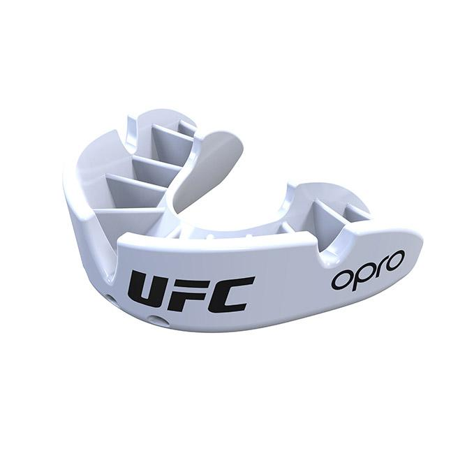 OPRO White UFC Bronze Mouth Guard