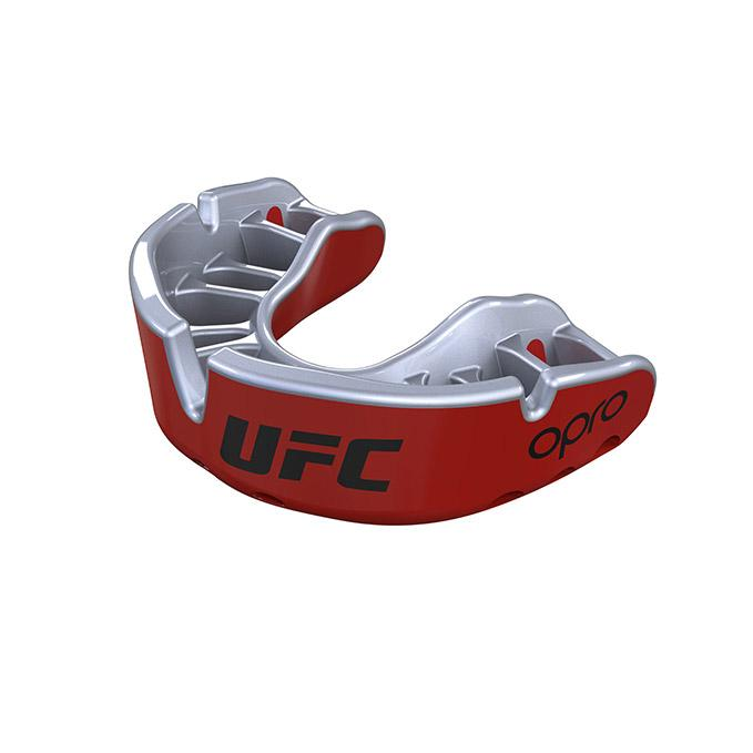 OPRO Red/Silver UFC Gold Mouth Guard
