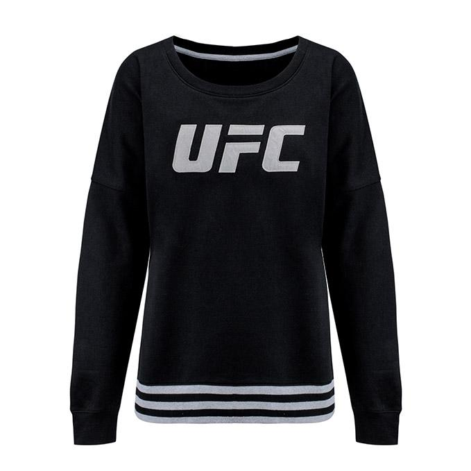 UFC Women's Roaring Glory Crew Sweatshirt - Black