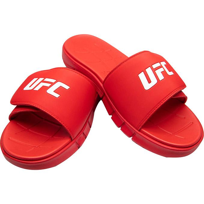 UFC Reebok Adjustable Slides - Red
