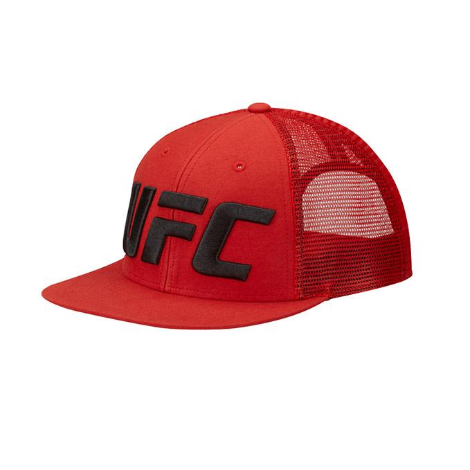 UFC Reebok Trucker Cap - Red