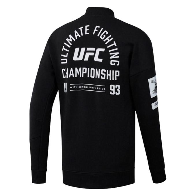 UFC Reebok Fan Gear Retro Stadium Jacket -Black