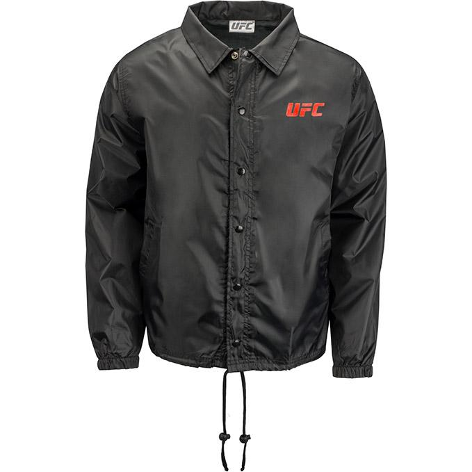 UFC Classic Coaches Jacket -Black
