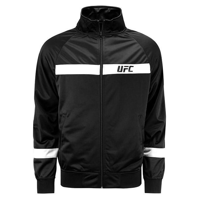 UFC Mens Renzo Track Jacket-Black/White