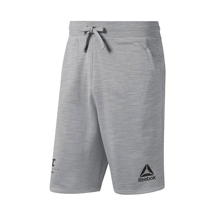 Reebok Mens UFC Fan Gear Short-Grey