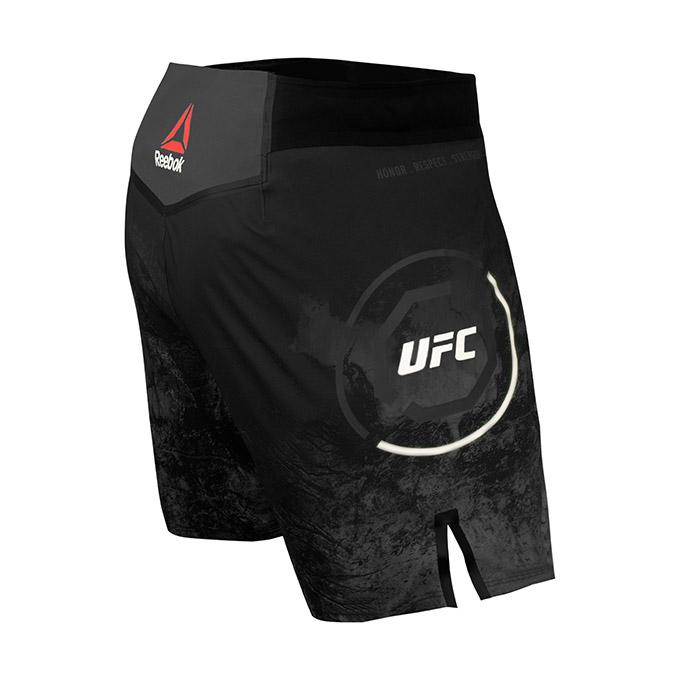 Reebok Authentic Fight Night UFC Octagon Trunk Short-Black