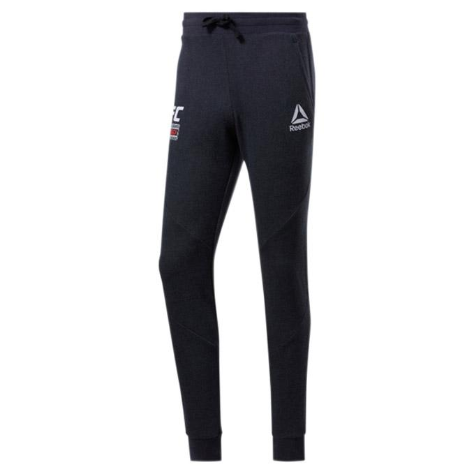 UFC Reebok Fan Gear Fight Week Joggers - Black