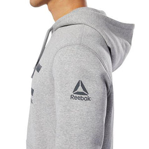 Reebok Grey, Fight for More, UFC Pullover Hoodie