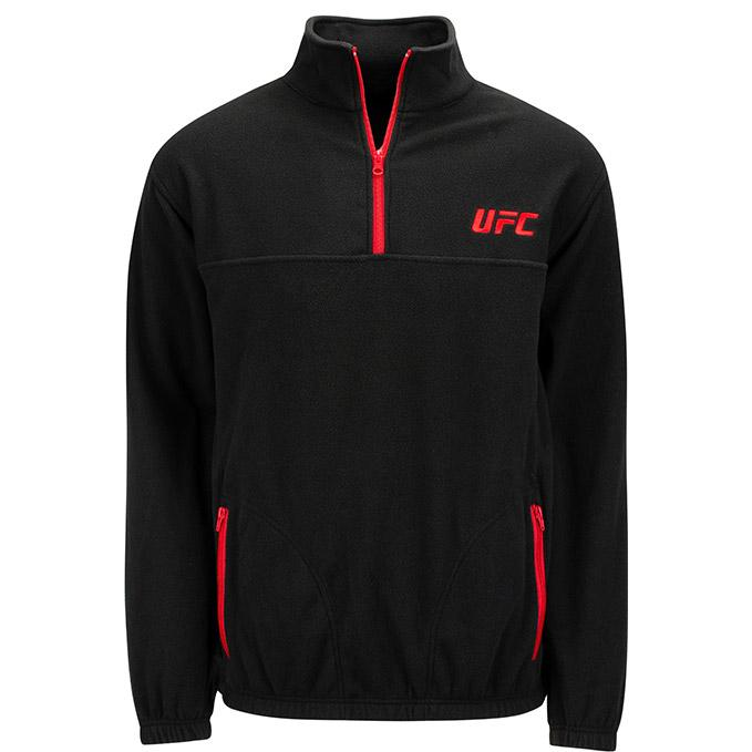 UFC Mens Tech 1/4 Zip - Black