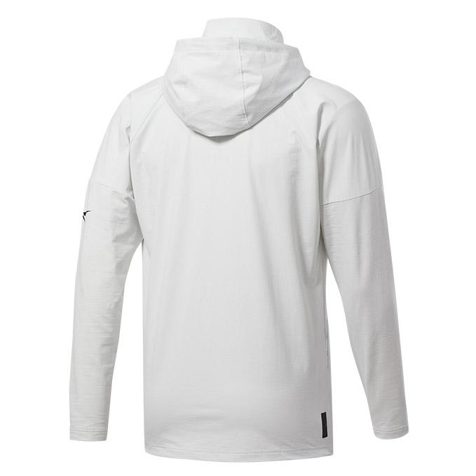 Men's UFC Reebok UBF Control Hoodie - True Grey