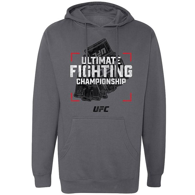 Men's UFC Snapshot Hoodie - Gunmetal Heather