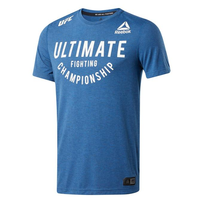 UFC Reebok Fight Night Ultimate Fighting Championship Jersey -Blue