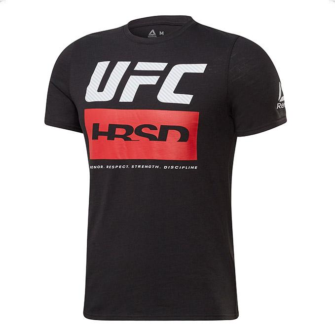 Men's UFC Reebok Fan Gear Fight Week T-Shirt - Black