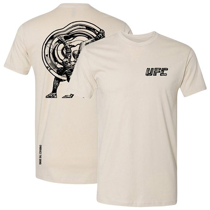 Men's UFC Disciplines Embrace the Grind T-Shirt - Sand