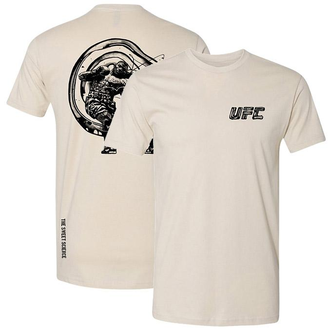 Men's UFC Disciplines The Sweet Science T-Shirt - Sand