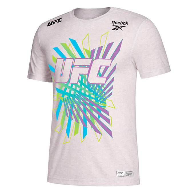 Personalised Men's Reebok EA SPORTS UFC 4 Walkout Jersey - Chalk
