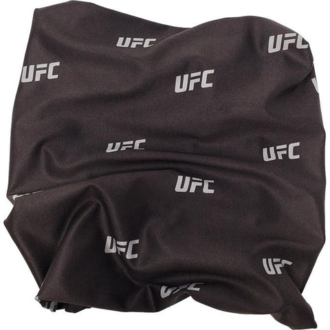 Men's UFC Fight Island Blue Octagon Tri-Blend T-Shirt - Steel Blue