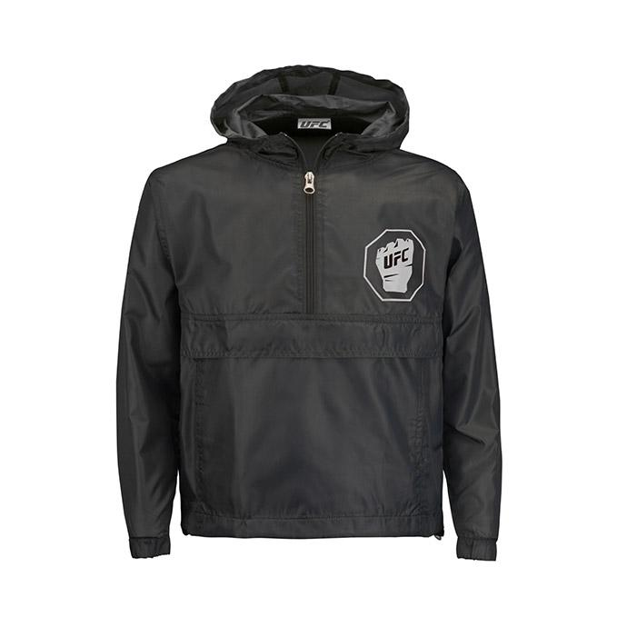 UFC Youth Packable Jacket- Black