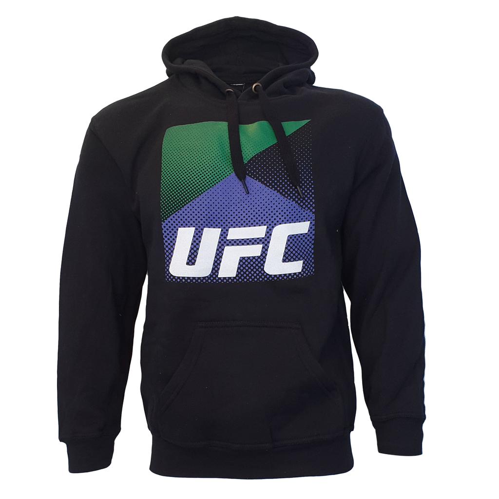 Men's UFC Flag Graphic Hoodie - Black